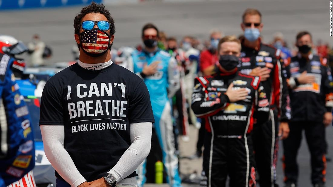 NASCAR legends voice support for George Floyd protests