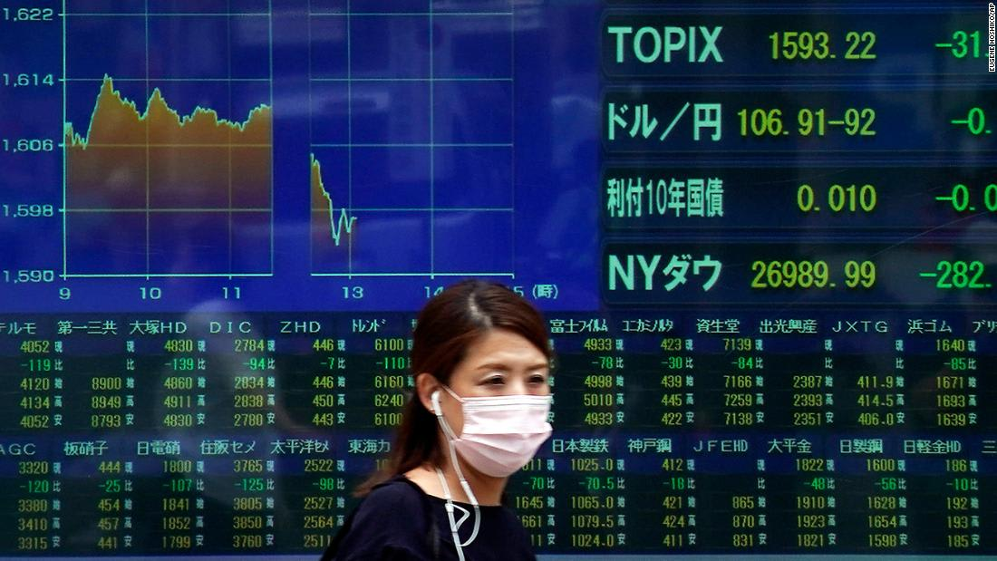 Global stocks retreat as coronavirus fears return