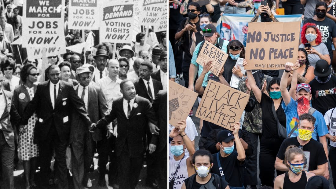 Civil rights protesters from the 1950s and 1960s on their struggle -- and our present moment