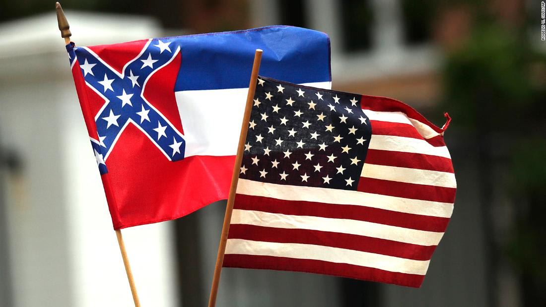 Mississippi lawmakers pushing to remove Confederate emblem from state flag