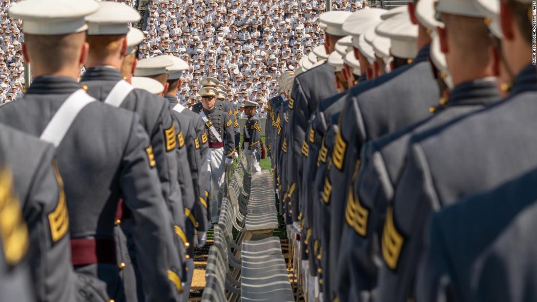 Trump will address a socially distanced West Point graduation Saturday
