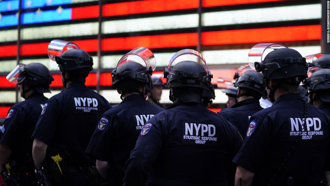Protesters in New York detail alleged police abuse at demonstrations