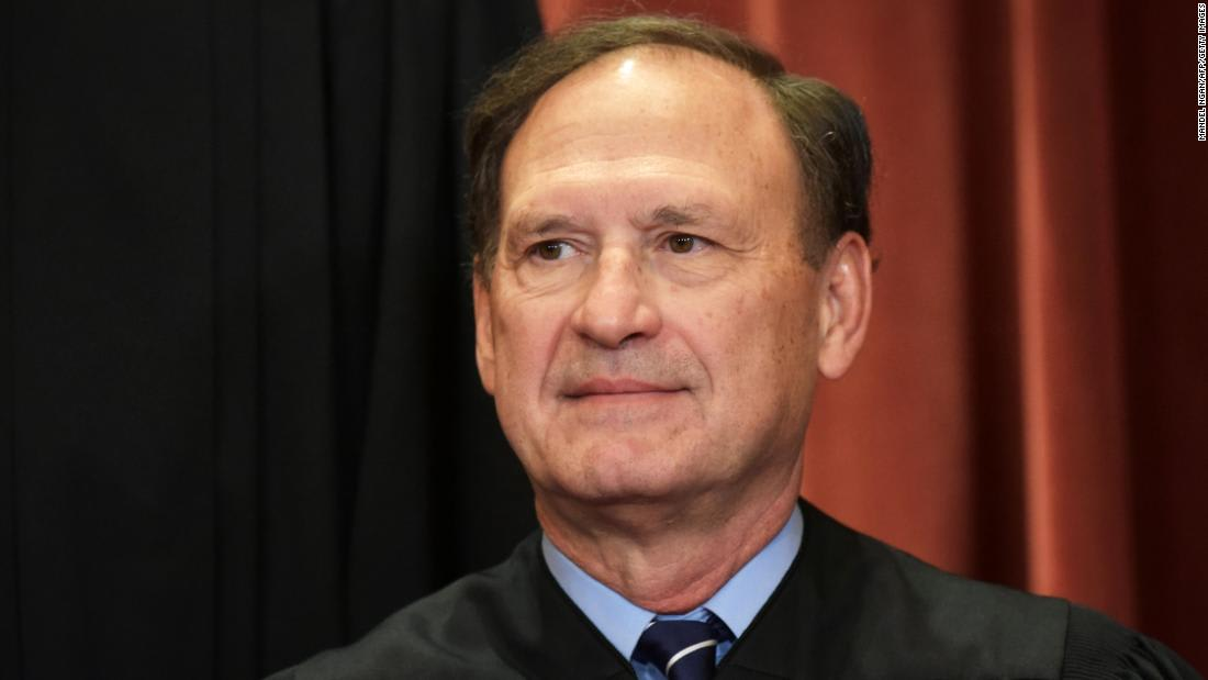 Alito raises religious liberty concerns about Covid restrictions and same-sex marriage ruling