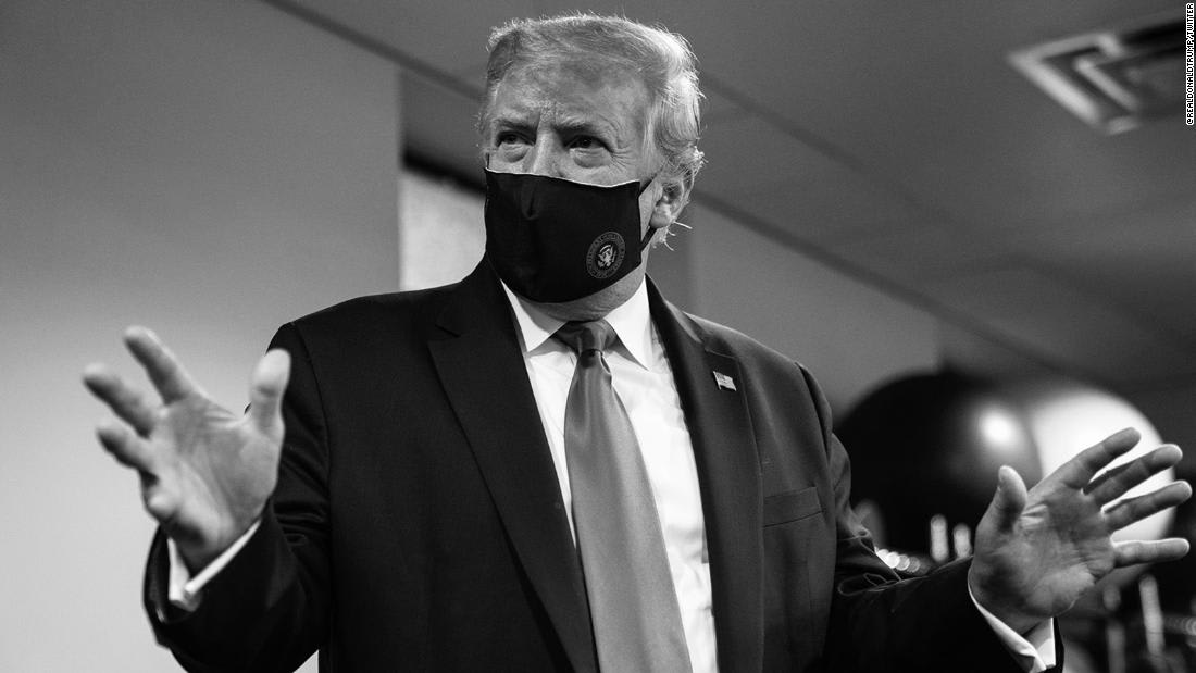 Trump uses campaign email to ask supporters to wear face masks