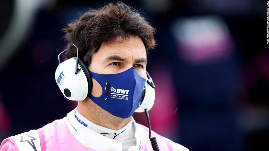 Formula One driver Sergio Perez tests positive for Covid-19 and will miss British Grand Prix