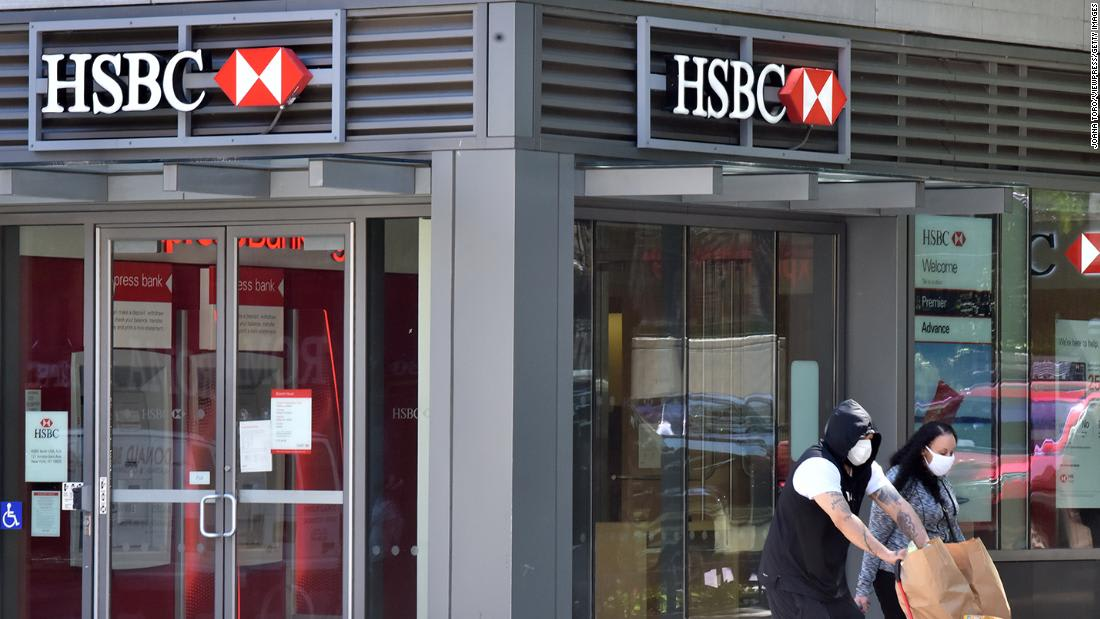 HSBC profits plunge 65% as the pandemic continues to batter its business