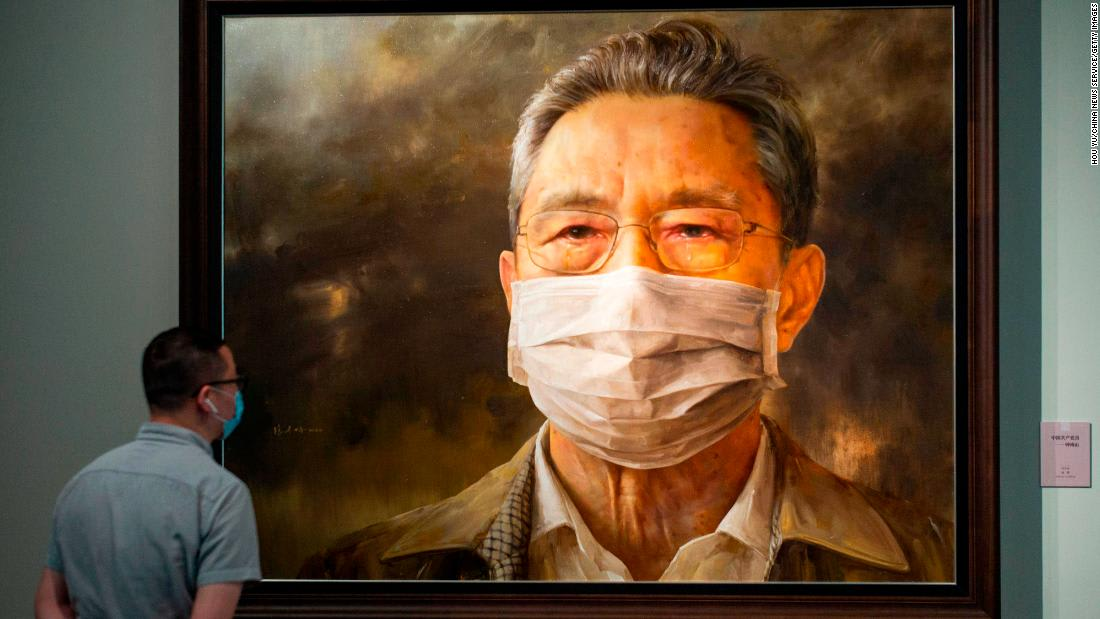 Beijing art exhibition glorifies China's Covid-19 response