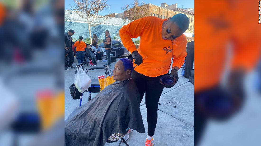 This woman is beautifying Skid Row one makeover at a time. And not even the pandemic can stop her from helping the homeless