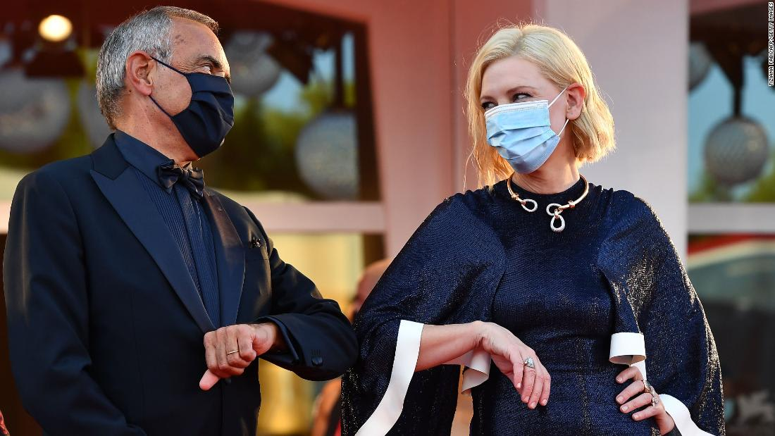 Venice Film Festival 2020: Best fashion (and face masks) on the red carpet