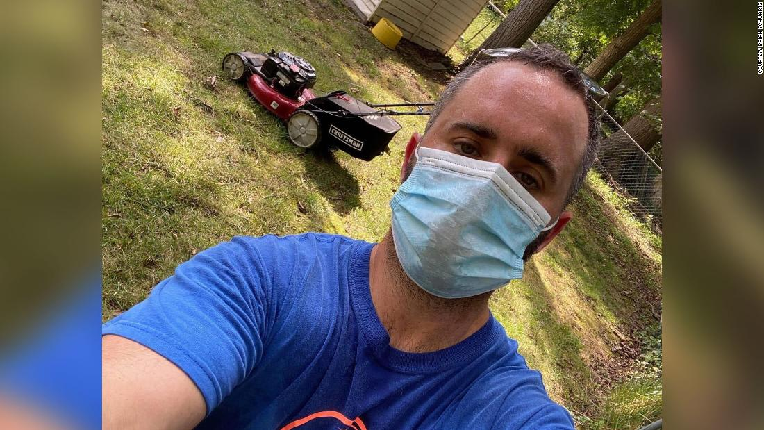 A New Jersey man was laid off due to the pandemic. Now he's mowing lawns for senior citizens and veterans at no charge