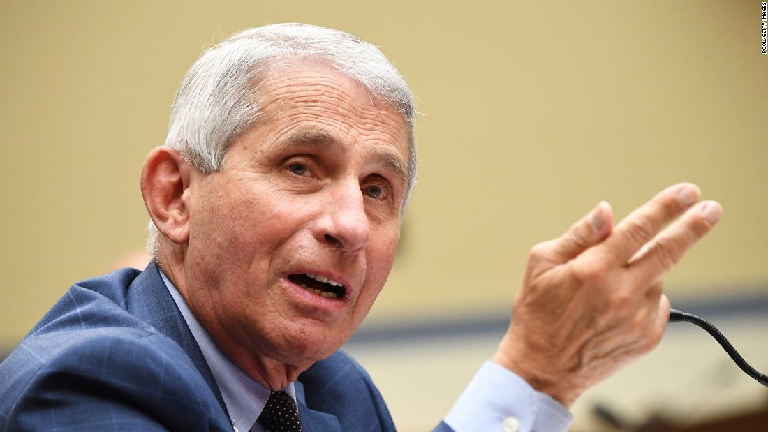 Fauci unsure what Trump means by saying the country is 'rounding the corner on the virus'
