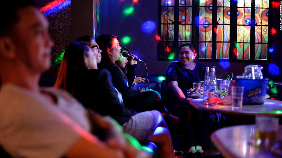 Report noisy karaoke singers to help fight Covid, Philippine governor says