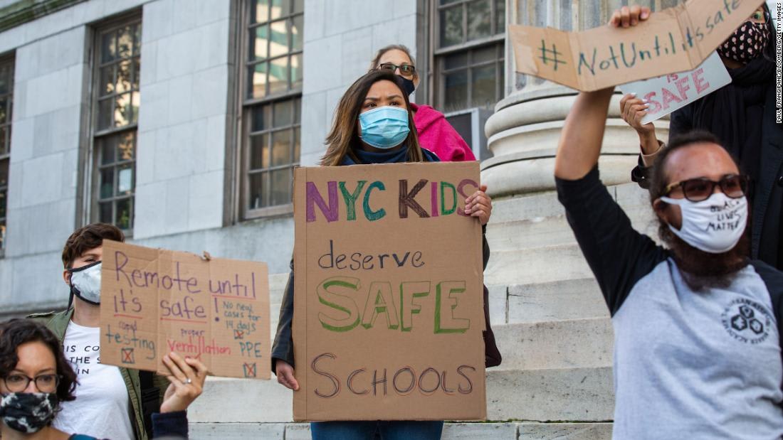 New York City schools' return to in-person classes leaves parents with tough choices
