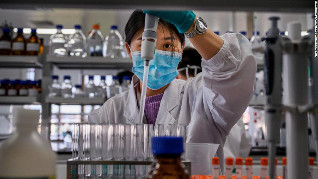 China doubles down in push for coronavirus vaccine