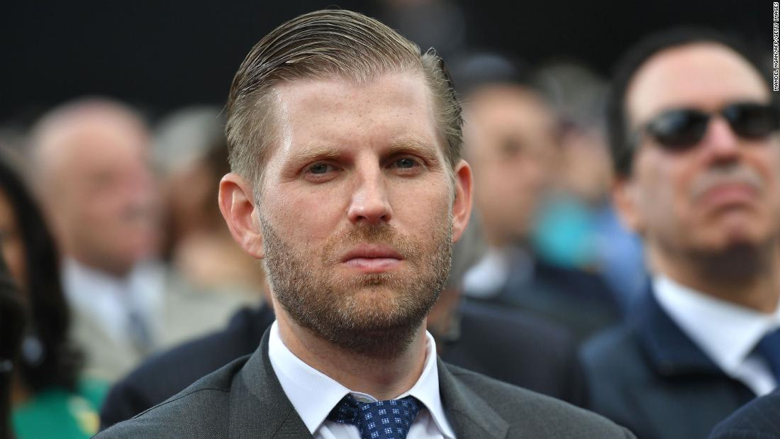 Analysis: Eric Trump may not get the whole Covid-19 vaccine thing