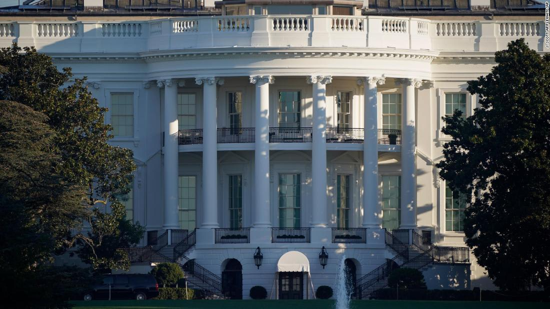 White House email says 'all contact tracing' is complete