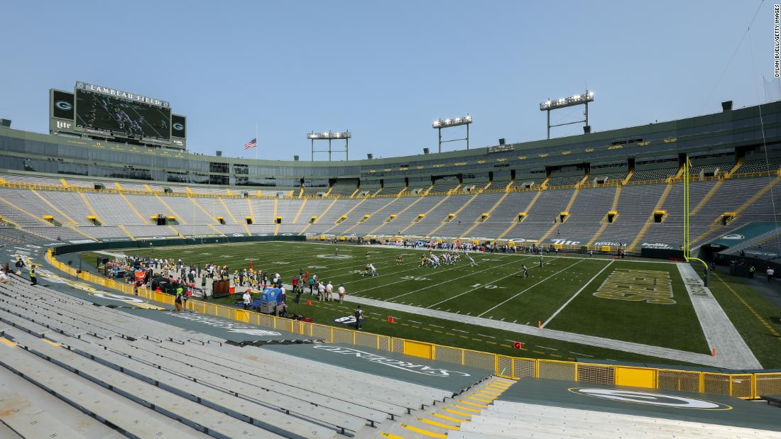 Green Bay Packers putting indefinite hold on fans at Lambeau Field after Covid cases increase