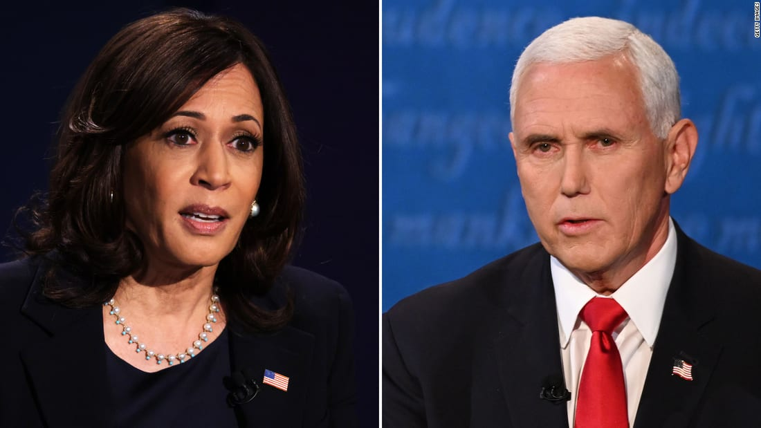 Pence does his best but Harris won't let him explain away Trump's failures
