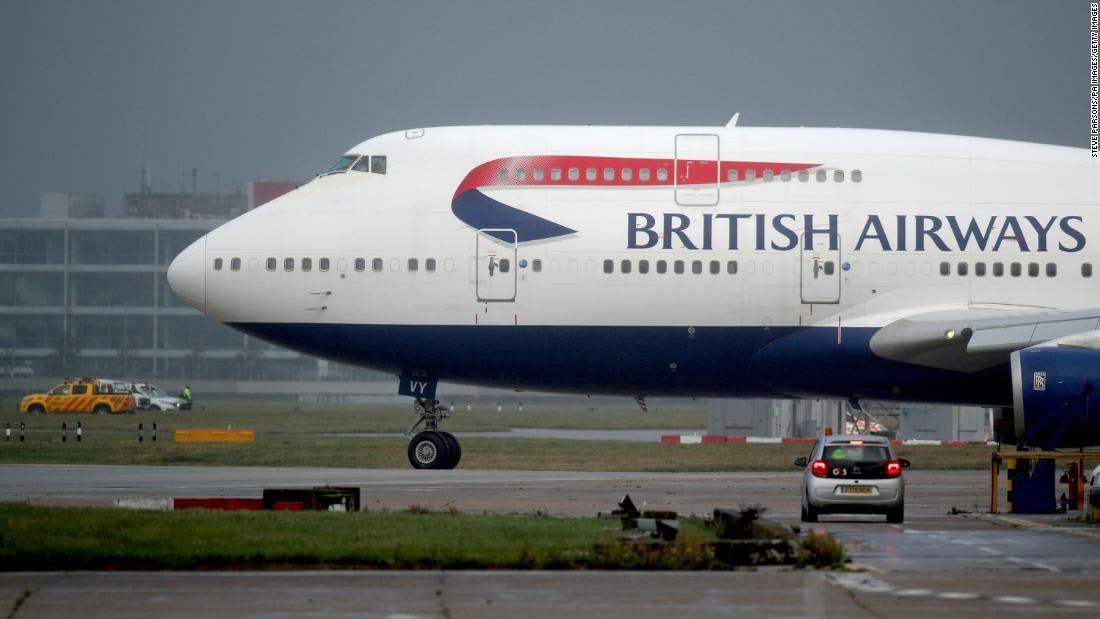 British Airways retires its final Boeing 747 airplane