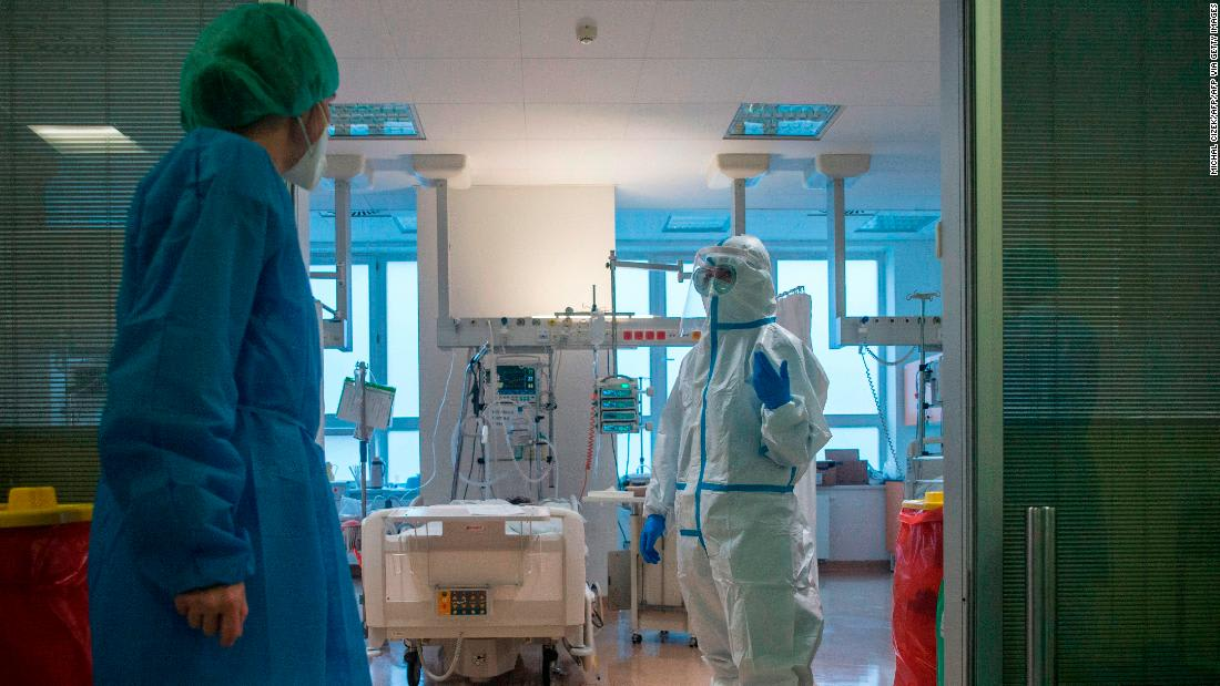 EU will fund transfer of Covid-19 patients across borders as hospital systems feel strain