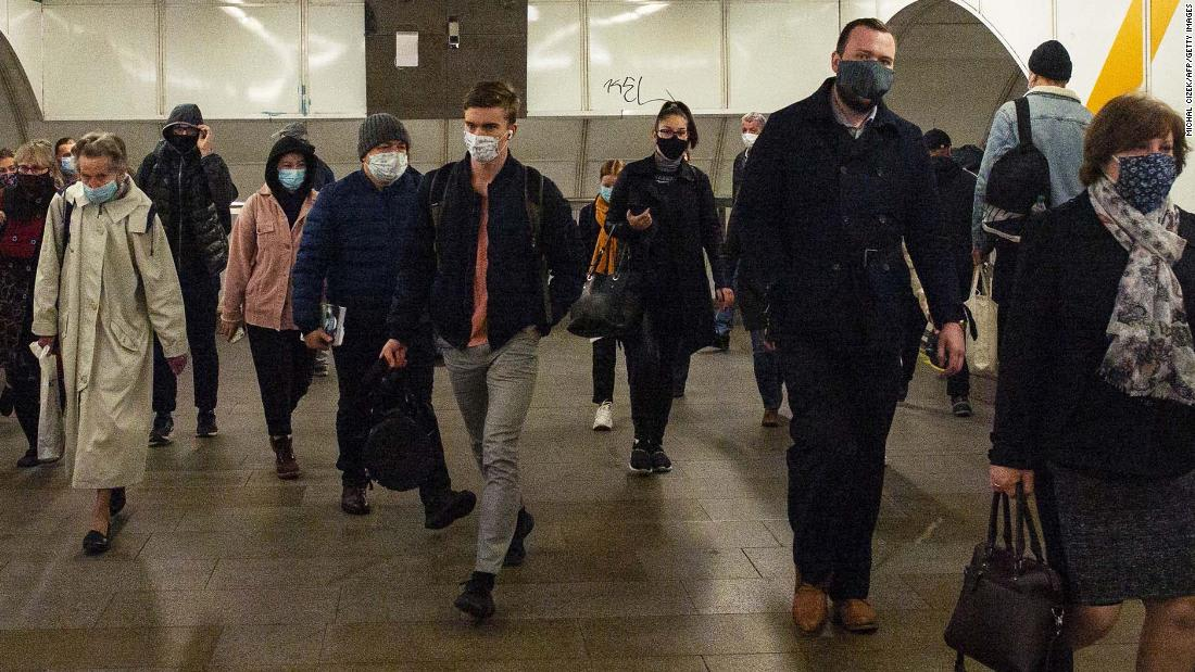Czech Republic is reinstating its strict face mask rules