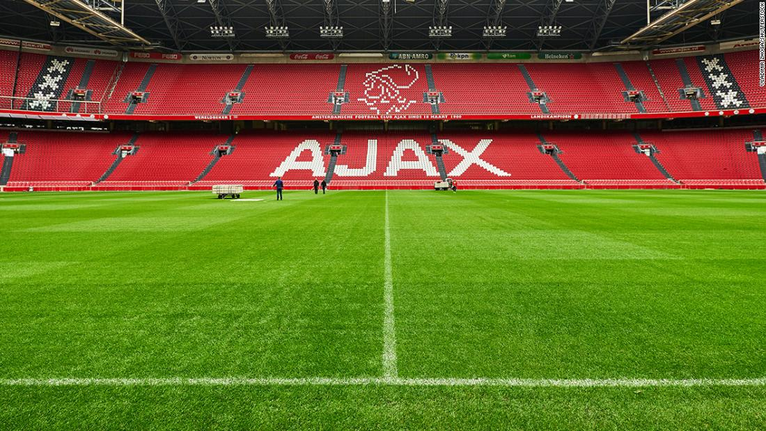 Squads of both Ajax and Dynamo Kiev hit by multiple positive Covid-19 tests ahead of Champions League games