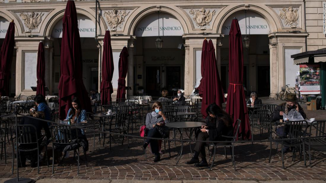 Italian regions lock down and Paris tightens rules as Europe smashes virus records