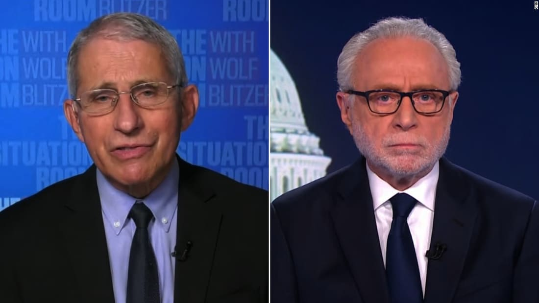Dr. Anthony Fauci reacts to Pfizer's coronavirus vaccine announcement - CNN Video