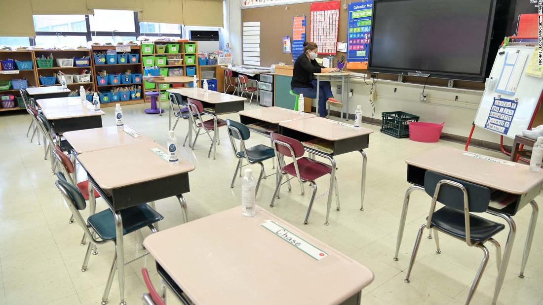 Schools go back to virtual learning in areas hard hit by Covid-19