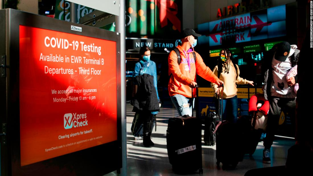 Millions traveling for Thanksgiving despite surging Covid-19 cases
