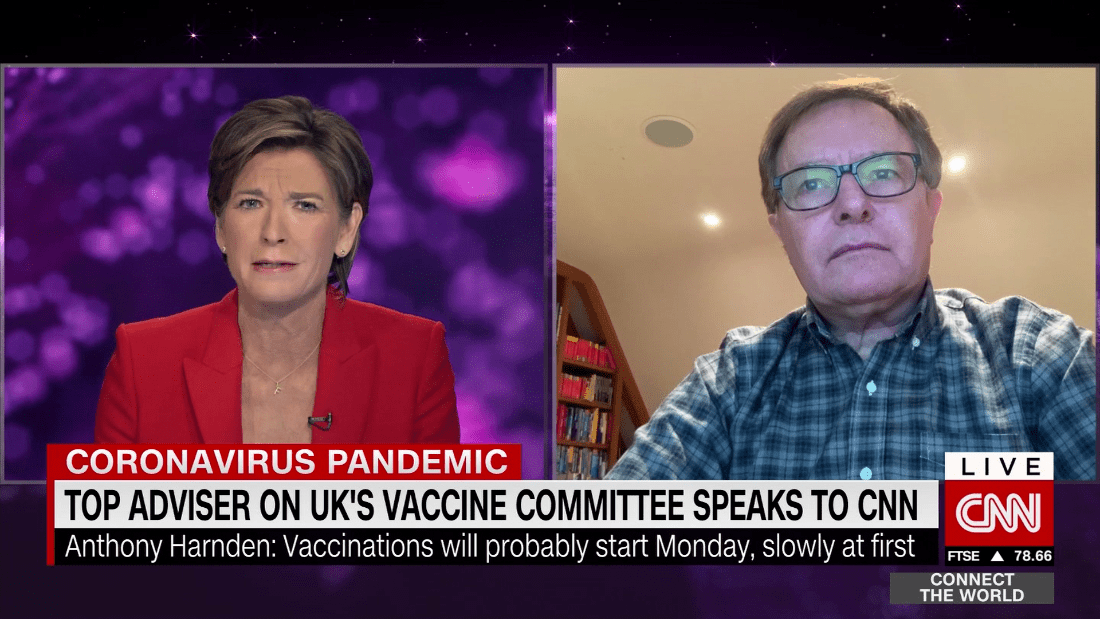 Harnden: Priority groups in the UK will get vaccine by Easter - CNN Video