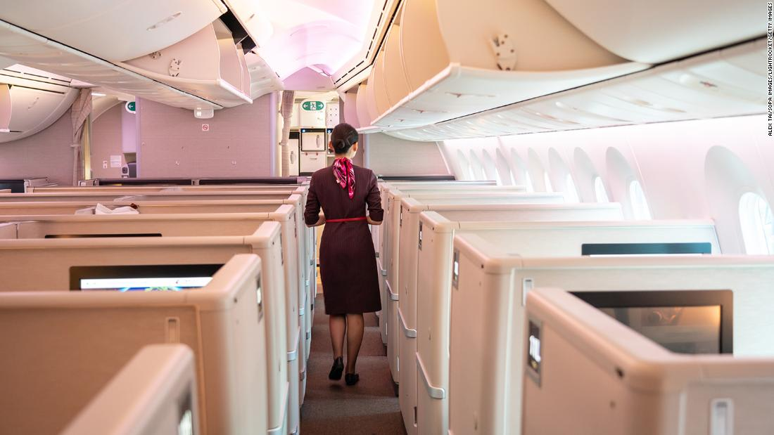 China flight attendants advised to wear diapers for Covid protection
