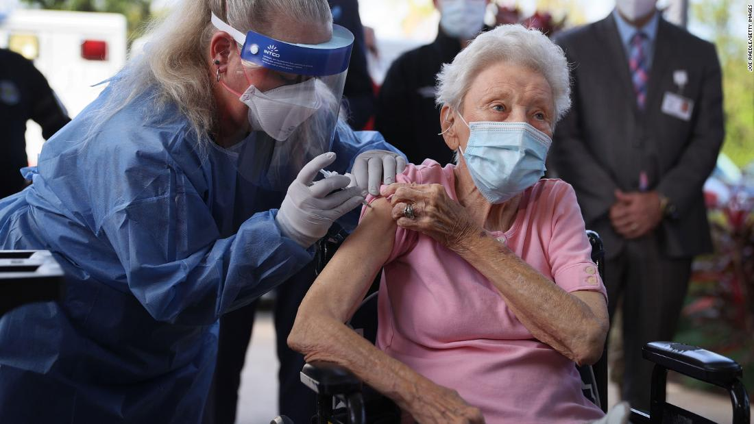 Vaccines are on the way, and nursing homes need to get residents to them