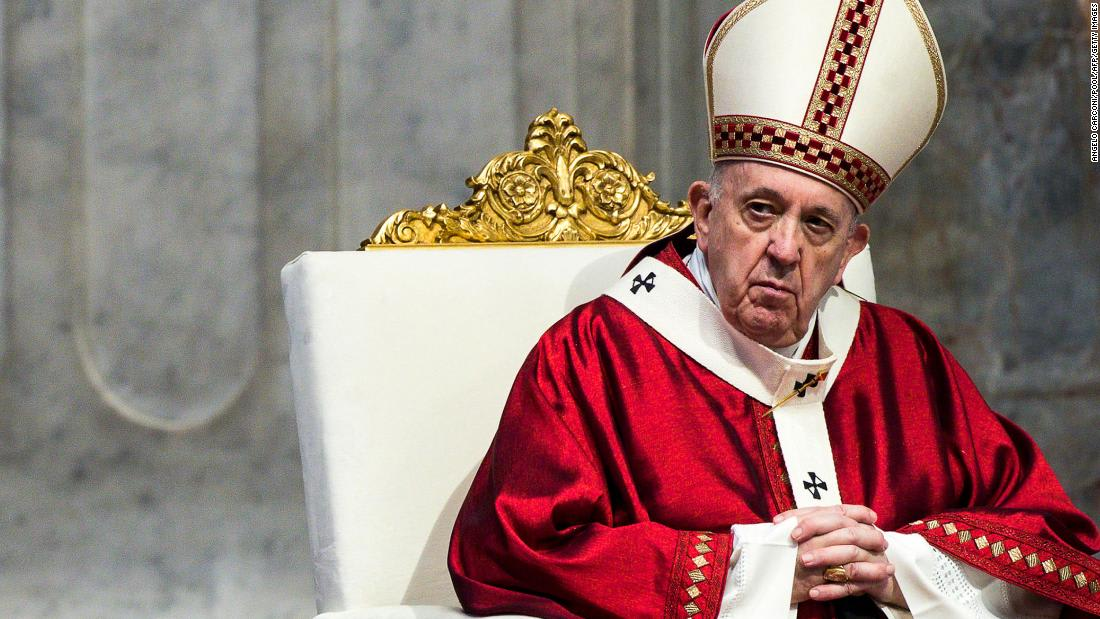 Pope Francis says he is in line to take Covid-19 vaccine