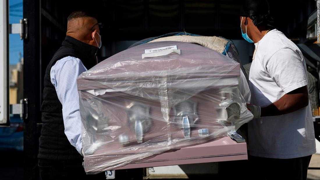 Los Angeles County Covid-19 deaths in a day equals city's homicide deaths in a year, mayor says