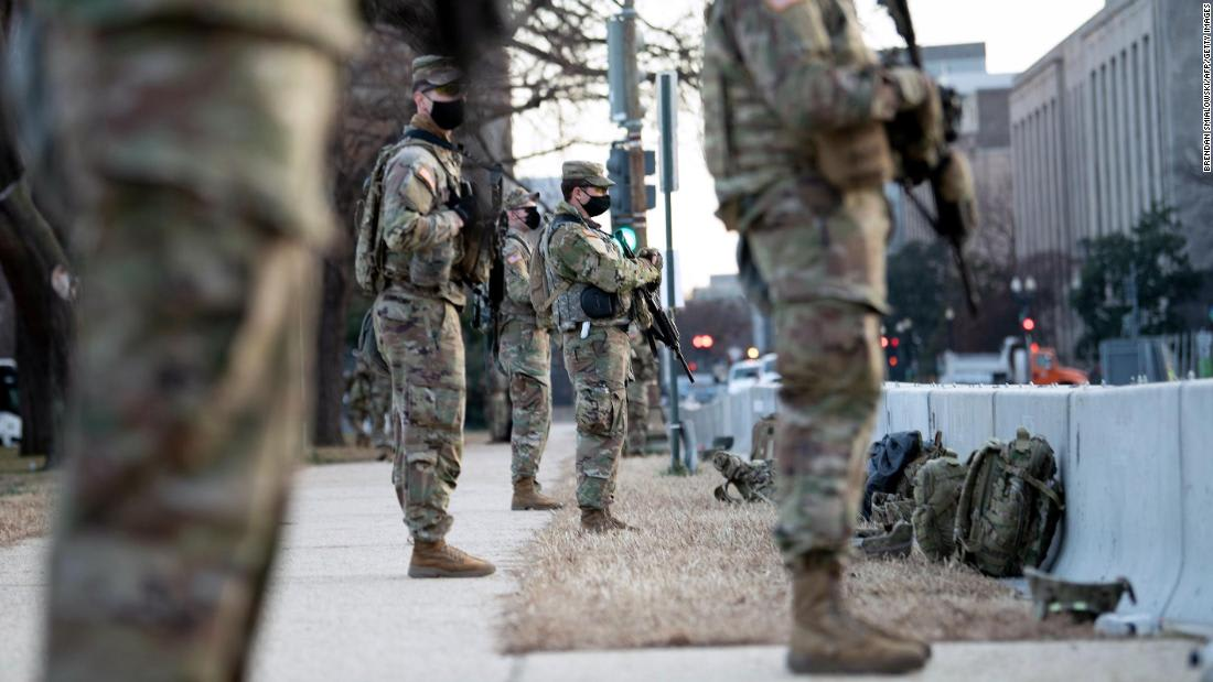 No plans to test most National Guard for Covid-19 before they deploy across DC