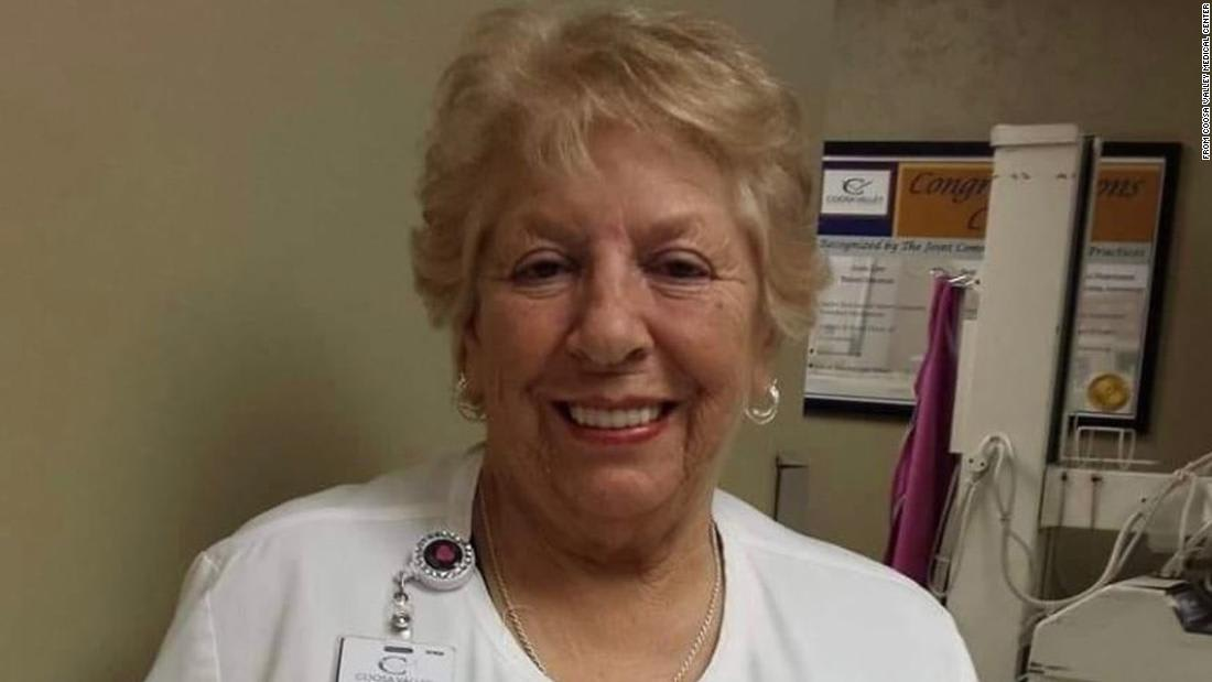 A nurse for 50 years refused to retire when the pandemic began. She later died from Covid-19