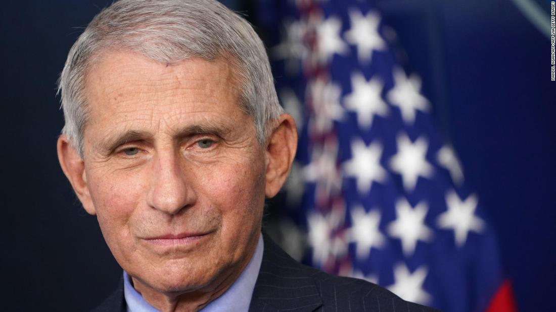 Fauci says he worried Trump's disinfectant comment would make people 'start doing dangerous and foolish things'