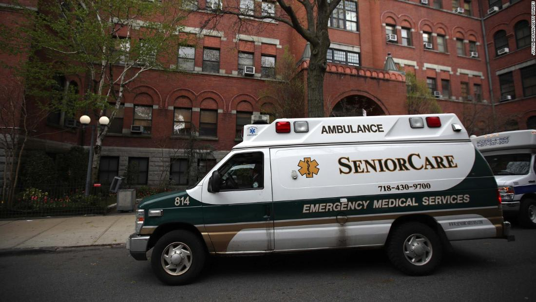 New York releases updated data on state's Covid-19 nursing home deaths