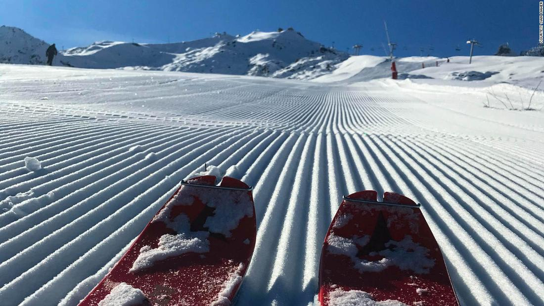 What it's like to have a ski resort to yourself
