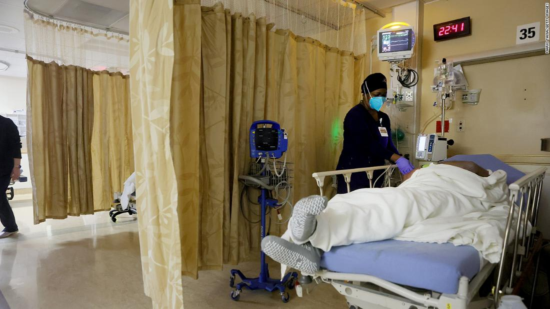 Hospitalizations are the lowest they've been in nearly 2 months. But US is still in for 'rough' coming weeks, expert says