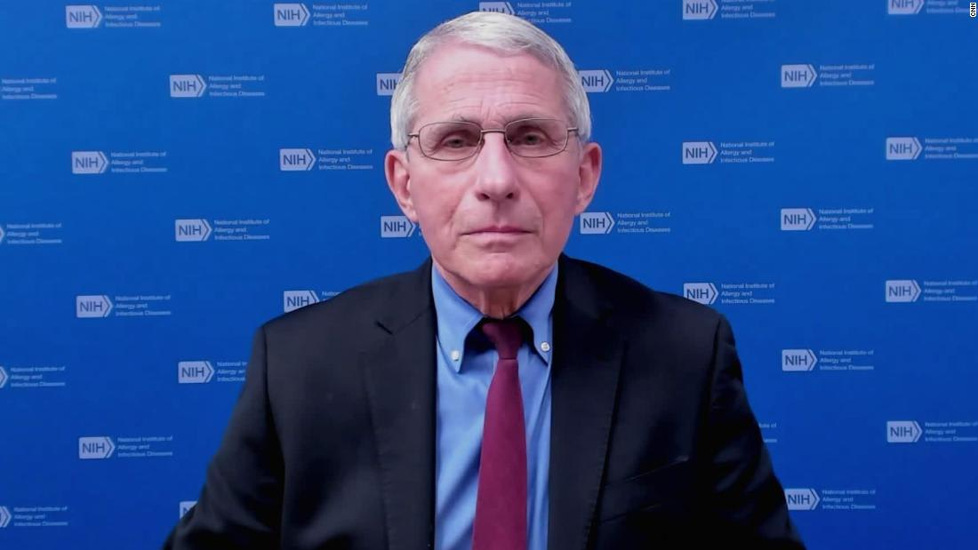 Those who had Covid-19 could get reinfected if the variants become dominant, Fauci says