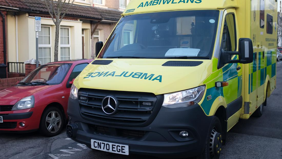 Ambulance crews report drop in Covid callouts in hard-hit Wales as vaccine rollout gathers pace