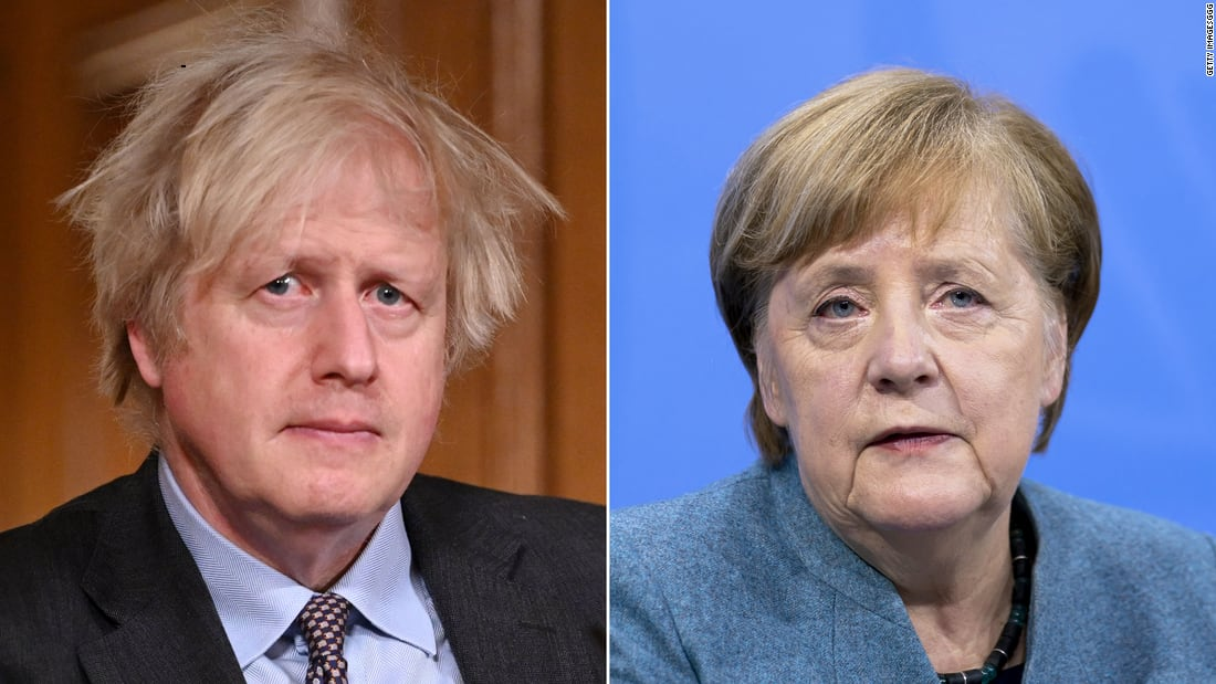 Boris Johnson's vaccine strategy gets another boost, while Europe's scramble for shots continues