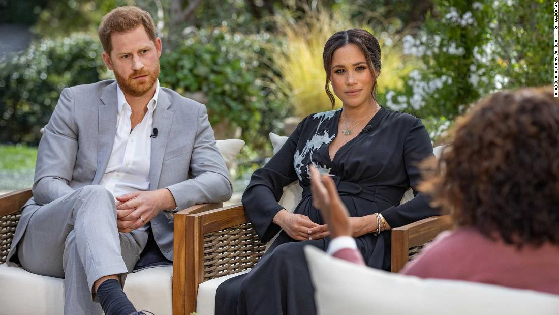 World waits for a made-for-TV bombshell, as Harry and Meghan sit down with Oprah