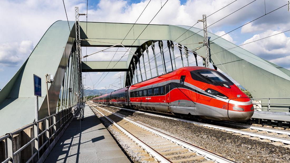 Italy unveils 'covid-free' trains to tourist destinations