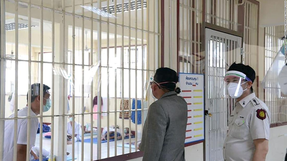 Covid-19 is tearing through Thailand's prisons