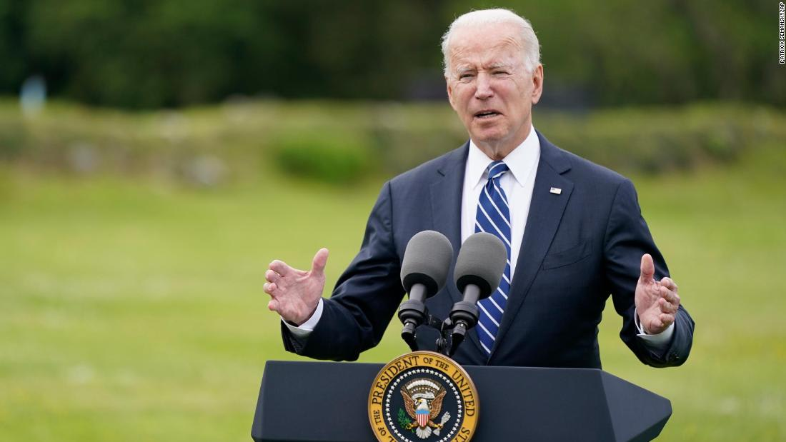 Biden joins the world leaders club at G7 with call for wartime effort against Covid-19