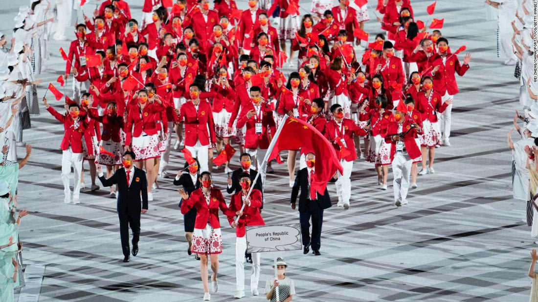 Nationalist sentiment rises as China off to strong start at Tokyo Olympics