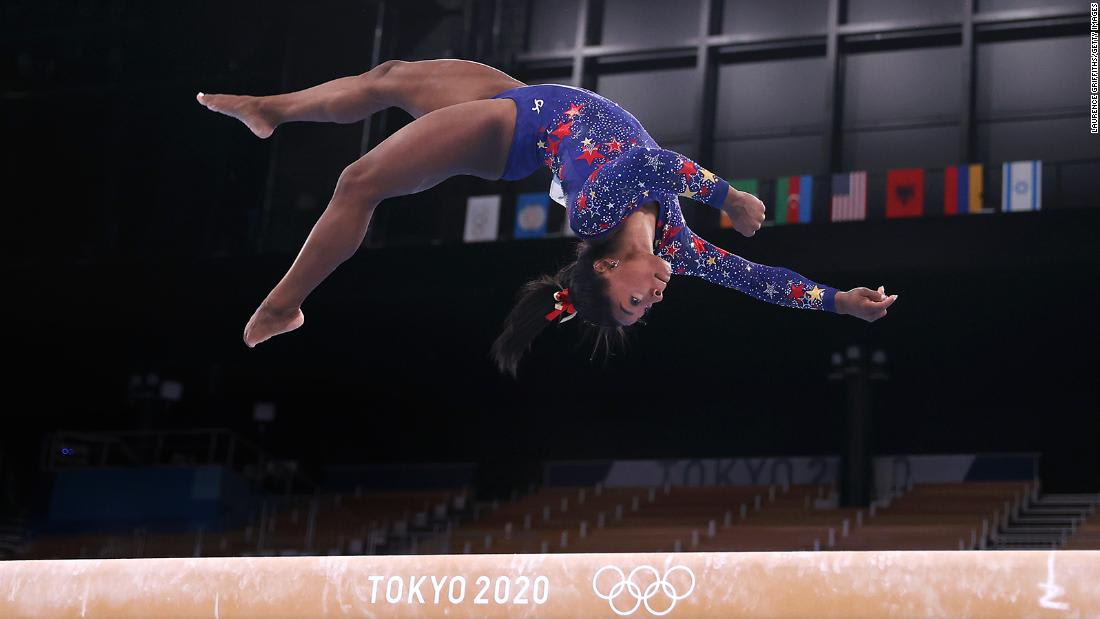 Simone Biles and 'the twisties': How fear affects the mental health and physical safety of gymnasts